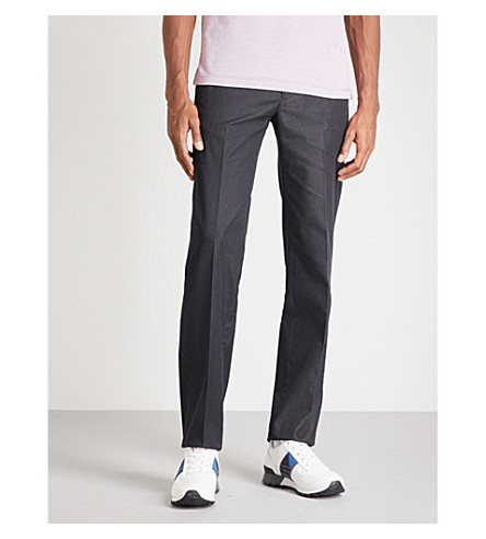 CANALI Regular-fit straight jeans (Grey