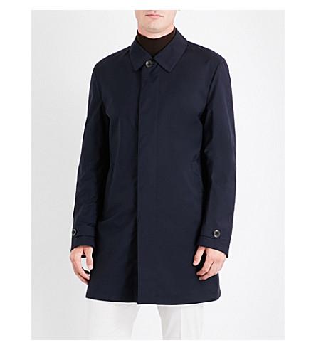 CANALI Reversible shell coat (Navy