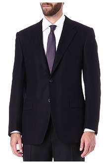 CANALI Cashmere-silk blend single-breasted blazer