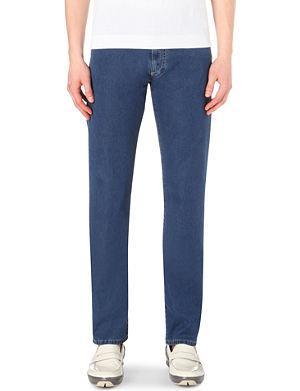 CANALI Regular-fit stretch-denim jeans