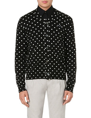 COMME DES GARCONS PLAY Polka dot cardigan