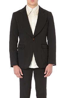 COMME DES GARCONS Animal-jacquard blazer