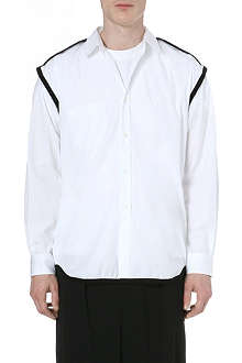 COMME DES GARCONS SHIRT Contrast black piping shirt