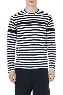 COMME DES GARCONS SHIRT Breton stripe top