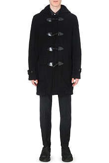 COMME DES GARCONS SHIRT Wool-twill duffle coat