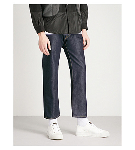 JUNYA WATANABE x The North Face relaxed-fit straight jeans (Indigo
