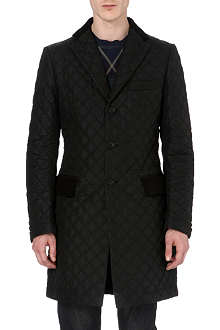 JUNYA WATANABE Quilted and wool-blend coat