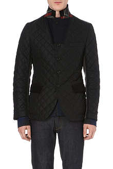 JUNYA WATANABE Quilted and wool-blend blazer