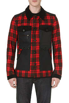 JUNYA WATANABE Tartan patch pocket jacket