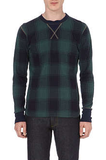 JUNYA WATANABE Checked long-sleeved top