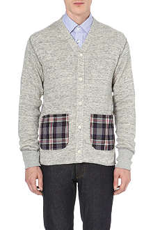 JUNYA WATANABE Checked-pocket cardigan