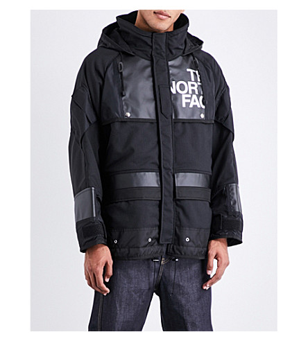 JUNYA WATANABE Junya Watanabe x The North Face wool-blend jacket (Black+white+black