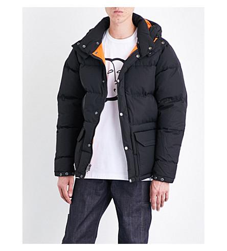 JUNYA WATANABE Junya Watanabe x The North Face hooded shell-down puffer jacket (Black