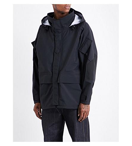 JUNYA WATANABE Hooded shell jacket (Black