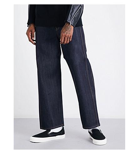 JUNYA WATANABE Junya Watanabe x Levi's regular-fit straight high-rise jeans (Indigo