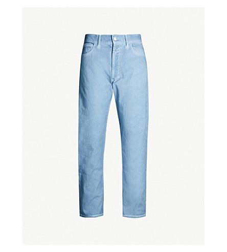 MARNI Overdyed regular-fit jeans (Light blue