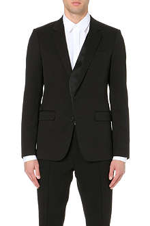 WOOYOUNGMI Asymmetric lapel tuxedo jacket