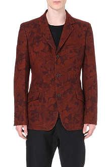 YOHJI YAMAMOTO Autumn Leaves wool blazer