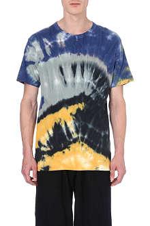 YOHJI YAMAMOTO Tie-dyed t-shirt
