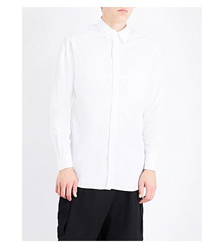 YOHJI YAMAMOTO Regular-fit cotton shirt (White