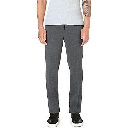 SACAI Tapered wool trousers (Grey