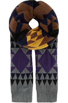 SACAI Aztec scarf
