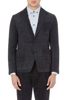 SACAI Checked blazer
