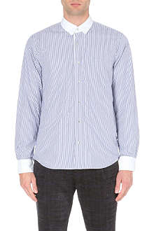 SACAI Reversible cotton shirt