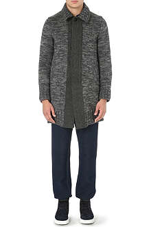 SACAI Knitted cardigan coat