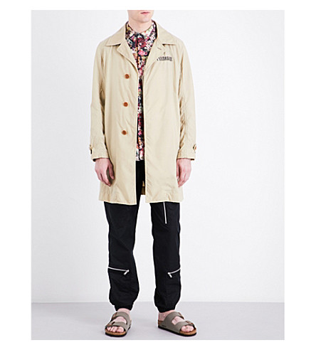 UNDERCOVER Embroidered woven coat (Beige