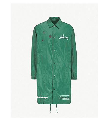 UNDERCOVER Spiritual Noise shell overcoat (Green