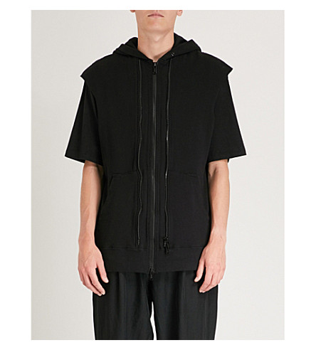 UNDERCOVER The Vesh-ches cotton-jersey hoody (Black