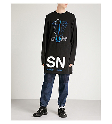 jersey Noise de algodón Black de Sudadera Spiritual zq5OxfXXw