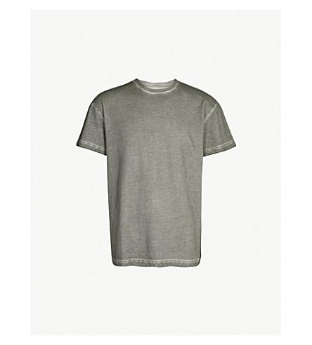 A-COLD-WALL Logo-print cotton-jersey T-shirt (Slate