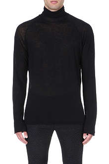 HAIDER ACKERMANN Semi-sheer knitted top