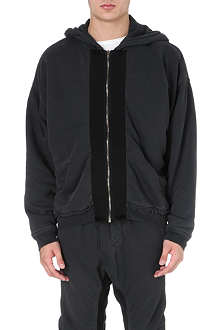 HAIDER ACKERMANN Fray contrast panel sweatshirt