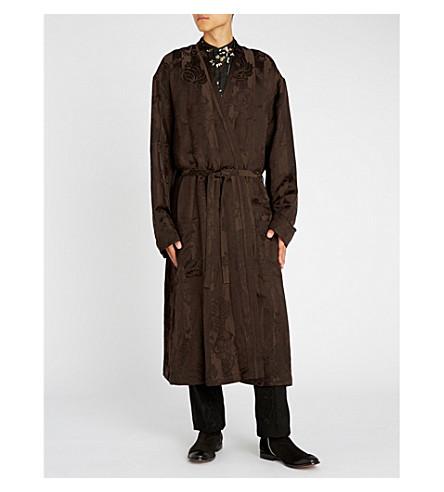 HAIDER ACKERMANN Aster linen-blend jacquard jacket
