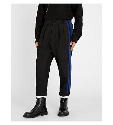 HAIDER ACKERMANN Calder striped-side regular-fit wool pants