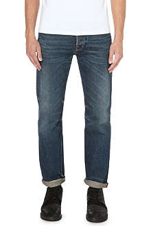 GOLDEN GOOSE DELUXE BRAND Regular-fit mid-rise carrot jeans