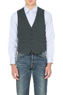 GOLDEN GOOSE DELUXE BRAND Quilted tweed waistcoat