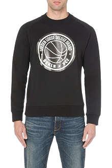 GOLDEN GOOSE DELUXE BRAND Basketball-print sweatshirt
