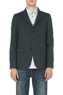 GOLDEN GOOSE DELUXE BRAND Tweed single-breasted blazer