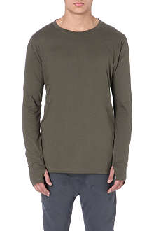 ALEXANDRE PLOKHOV Thumbhole cotton top