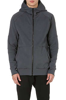 ALEXANDRE PLOKHOV Eclipse zip-up cotton hoody