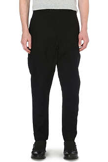 ALEXANDRE PLOKHOV Cross-over cotton-blend trousers
