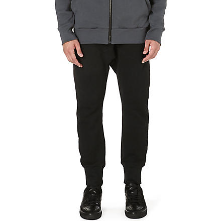 ALEXANDRE PLOKHOV Fleece jogging bottoms (Black