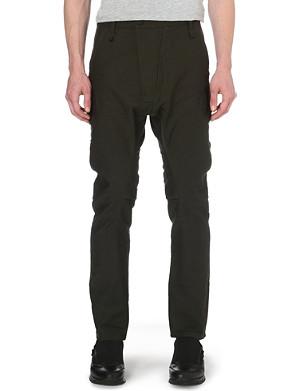 ALEXANDRE PLOKHOV Flight cotton-blend trousers