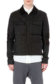 ALEXANDRE PLOKHOV Panelled denim jacket