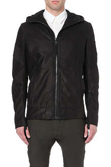 ALEXANDRE PLOKHOV Eclipse leather bomber