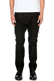 ALEXANDRE PLOKHOV Leather flight trousers